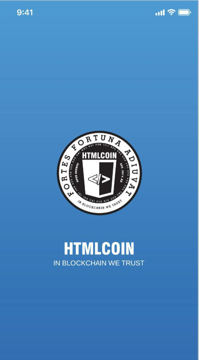 👀Sneak Peak Alert👀 Check out the first glimpses of what the #HTMLCOIN mobile wallet will look like! ...nice and clean, looks great on android as well as IOS. - Simon Telfer, Executive VP at $HTML. Retweet if you think it looks amazing. Like if youre excited to use it.