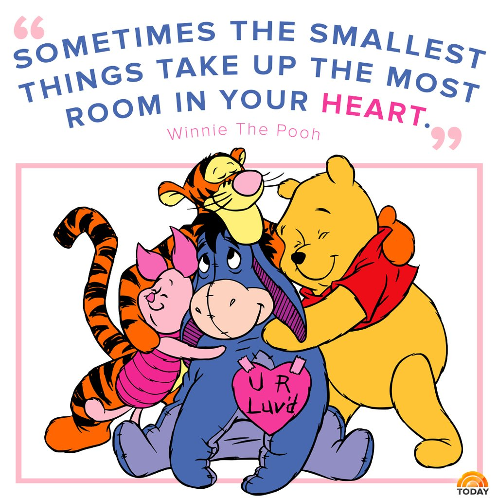 Remembering Winnie the Pooh author, A. A. Milne, on his birthday with this quote. #WinnieThePoohDay