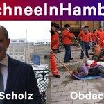 .@OlafScholz: Sie sitzen bei Kälte, Schnee und Eis im warmen Rathaus. 600 Obdachlose schmeißen Sie jeden Tag wieder auf die kalten Hamburger Straßen. Not cool! Öffnen Sie das Winternotprogramm für obdachlose Menschen auch tagsüber! 👉 https://t.co/9XZDXPKhy9 #SchneeInHamburg