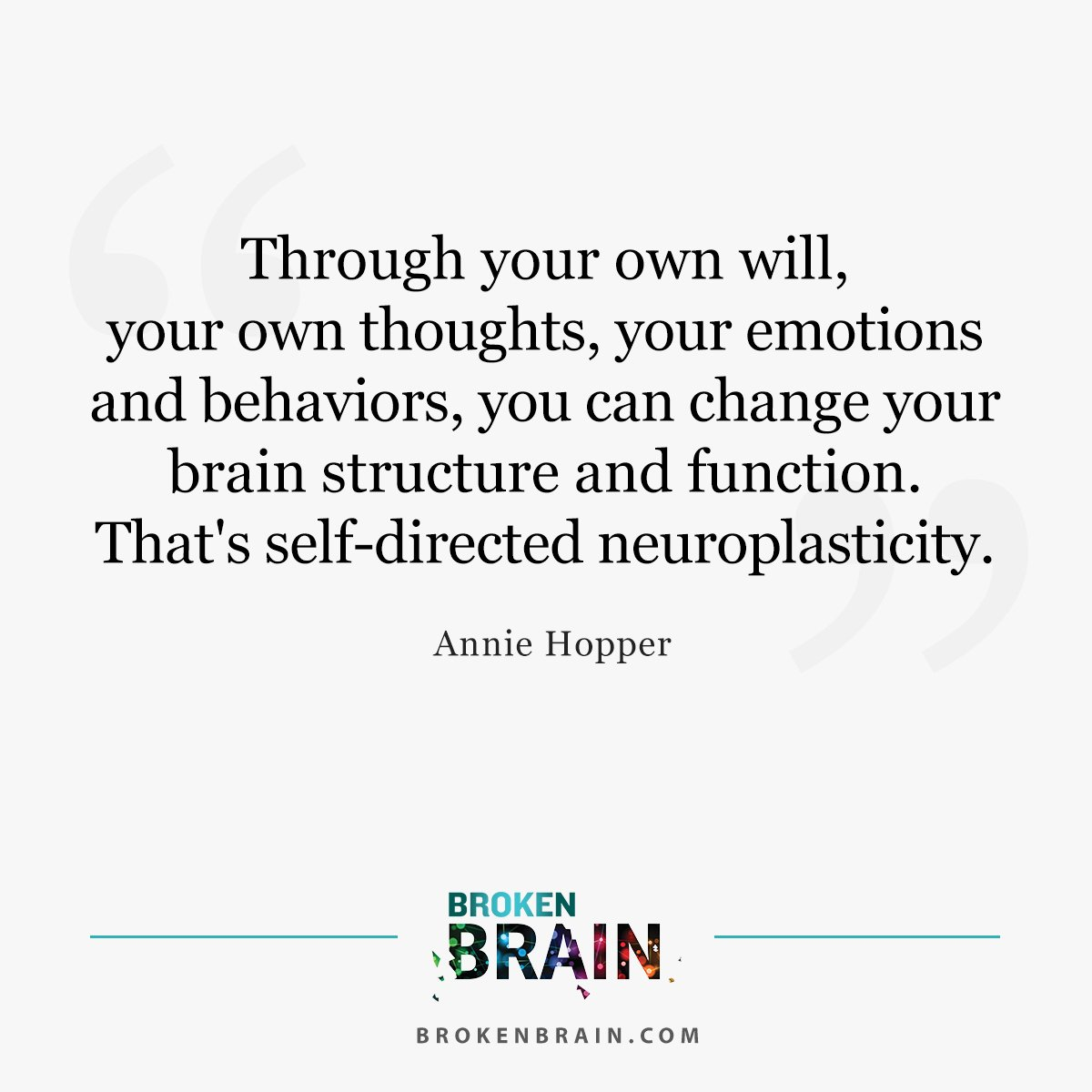 Neuroplasticity Begin To Change Life >> Mark Hyman M D On Twitter Neuroplasticity Is The Brain S Ability