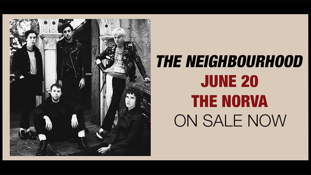 ON SALE NOW: @thenbhd on June 20!  Ticke...