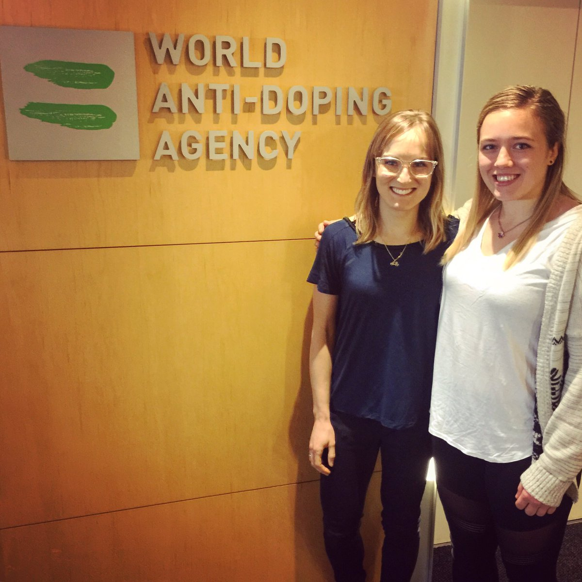 Lex Albrecht On Twitter Productive Morning At Wada Ama Headquarters In Montreal With Olympic Wrestler Doriyeats Sharing Feedback Experience Wada S Crew Is Savvy Passionate Committed To Truesport Helping To Keep