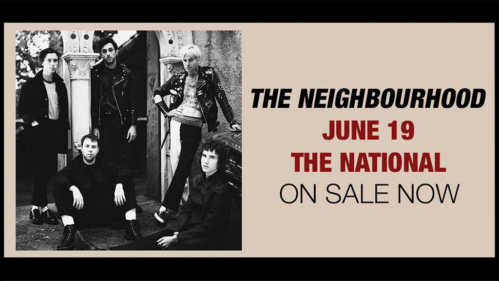 ON SALE NOW: @thenbhd on June 19!   Tix...