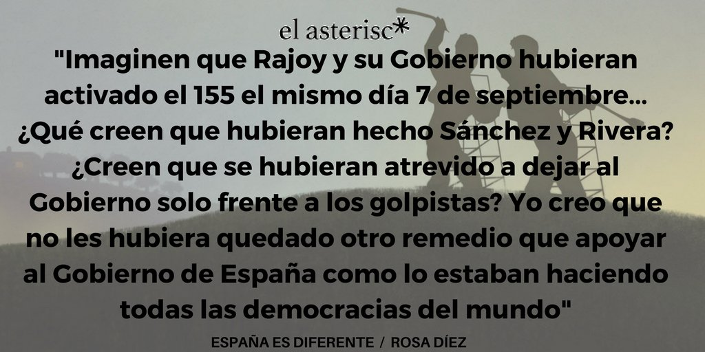 España es diferente. @rosadiezglez en @e...