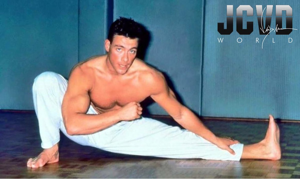 Time for a #ThrowBackThursday! #JCVD #TB...