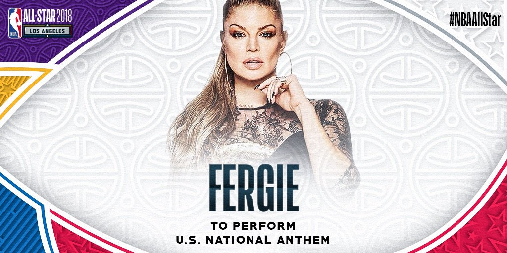 All star game national anthem 2019