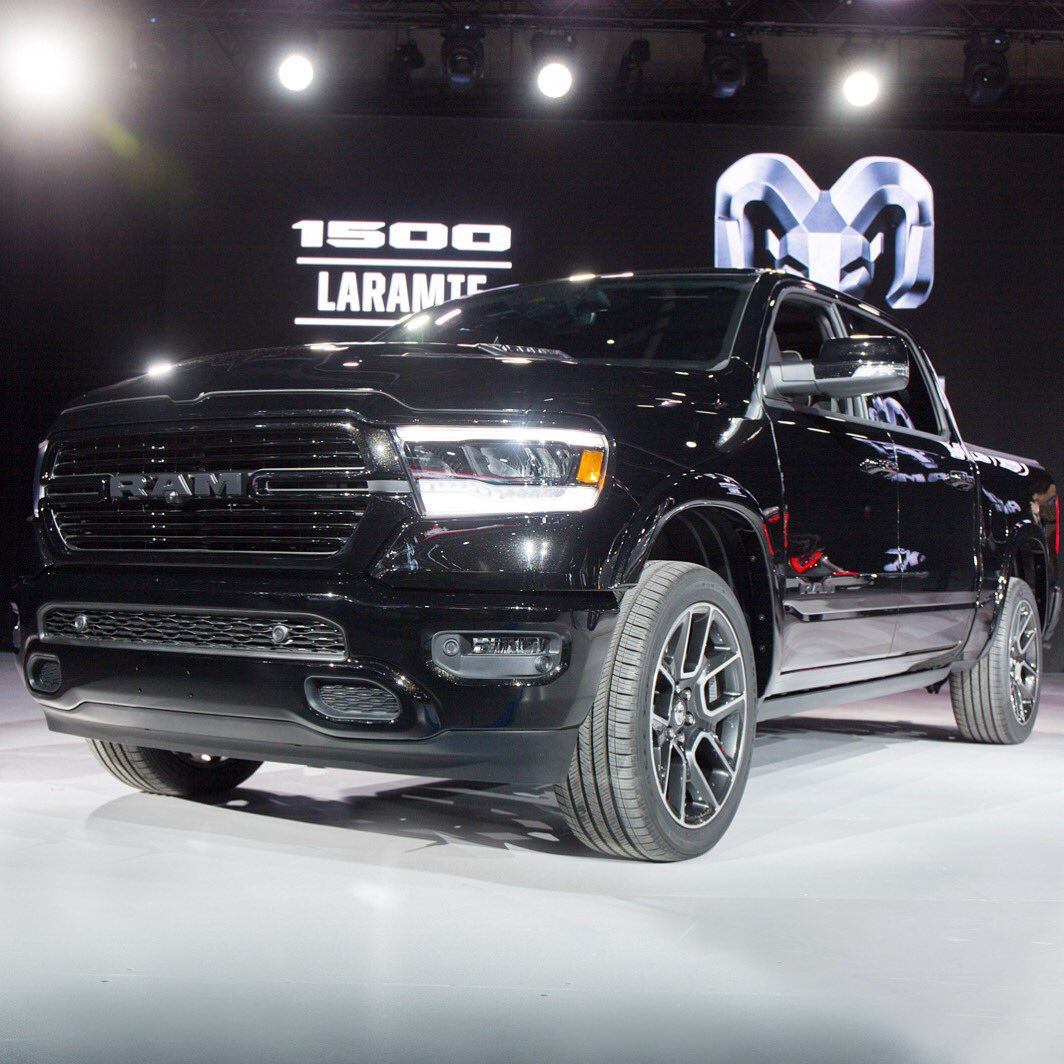 "2019 Ram 1500: RamTrucks On Twitter: ""The 2019 Ram 1500 Laramie Has"
