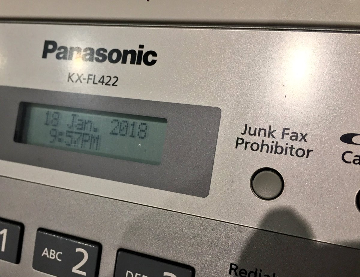 Seen on a fax machine at a lounge at Hanoi airport.