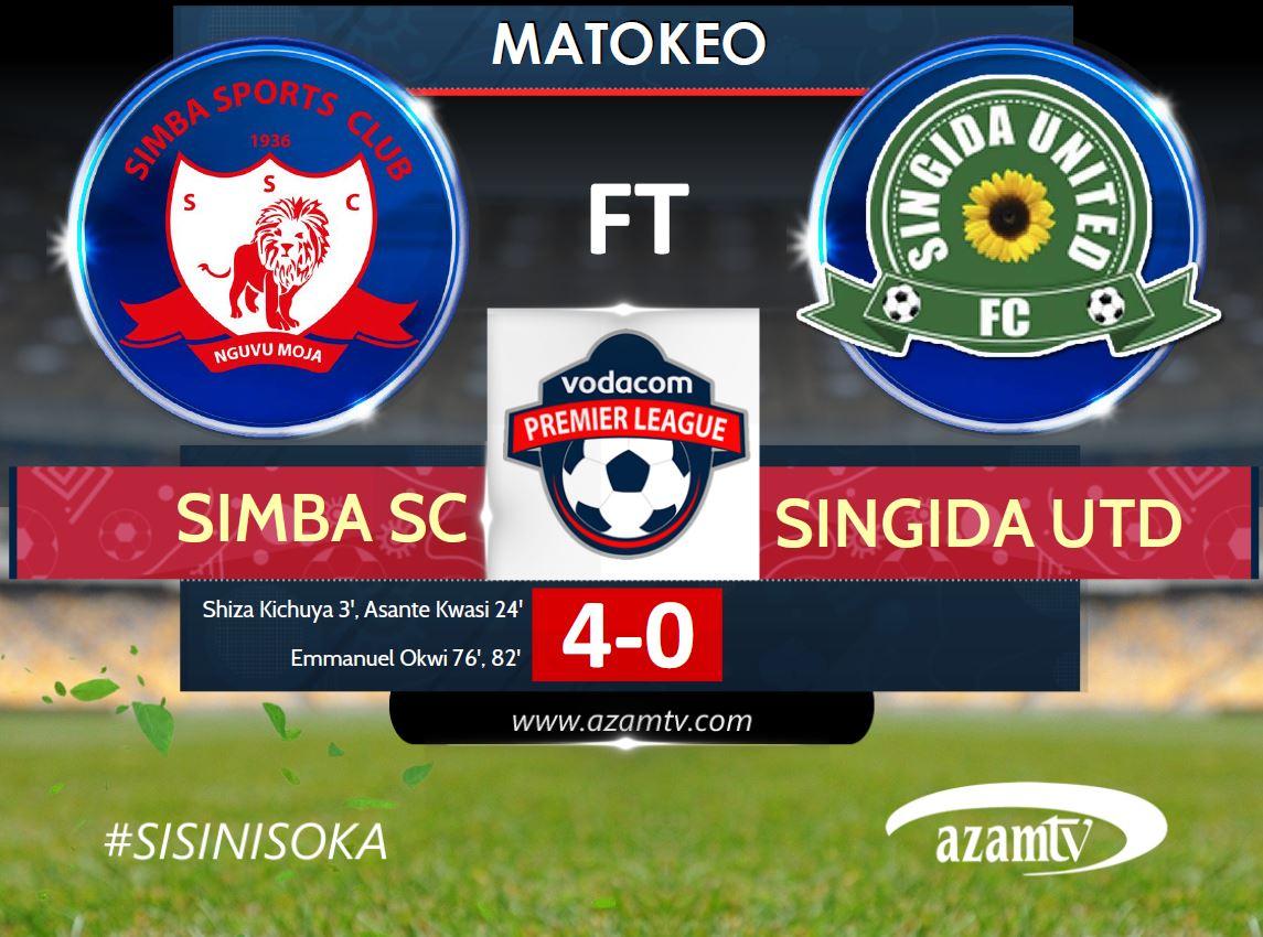 SIMBA VS SINGIDA