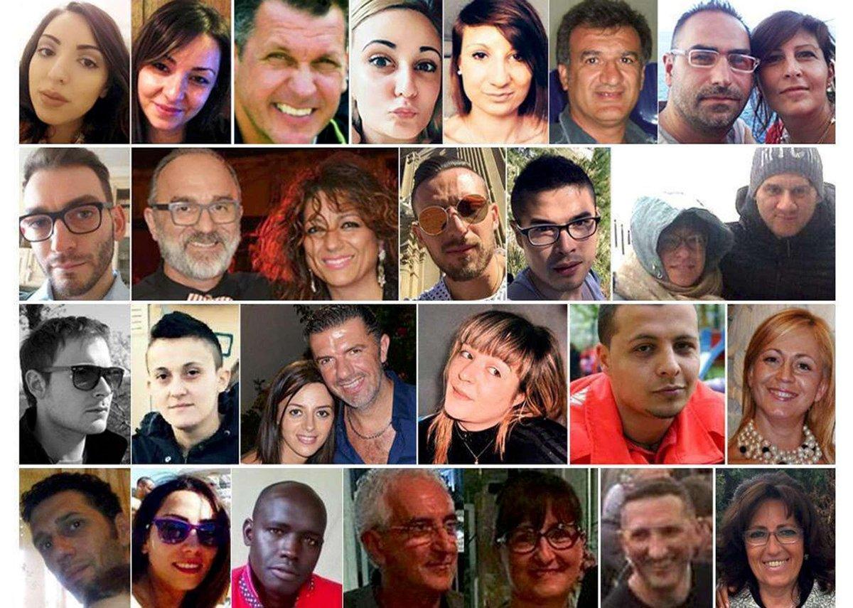 #18gennaio  Un anno dalla tragedia di #R...