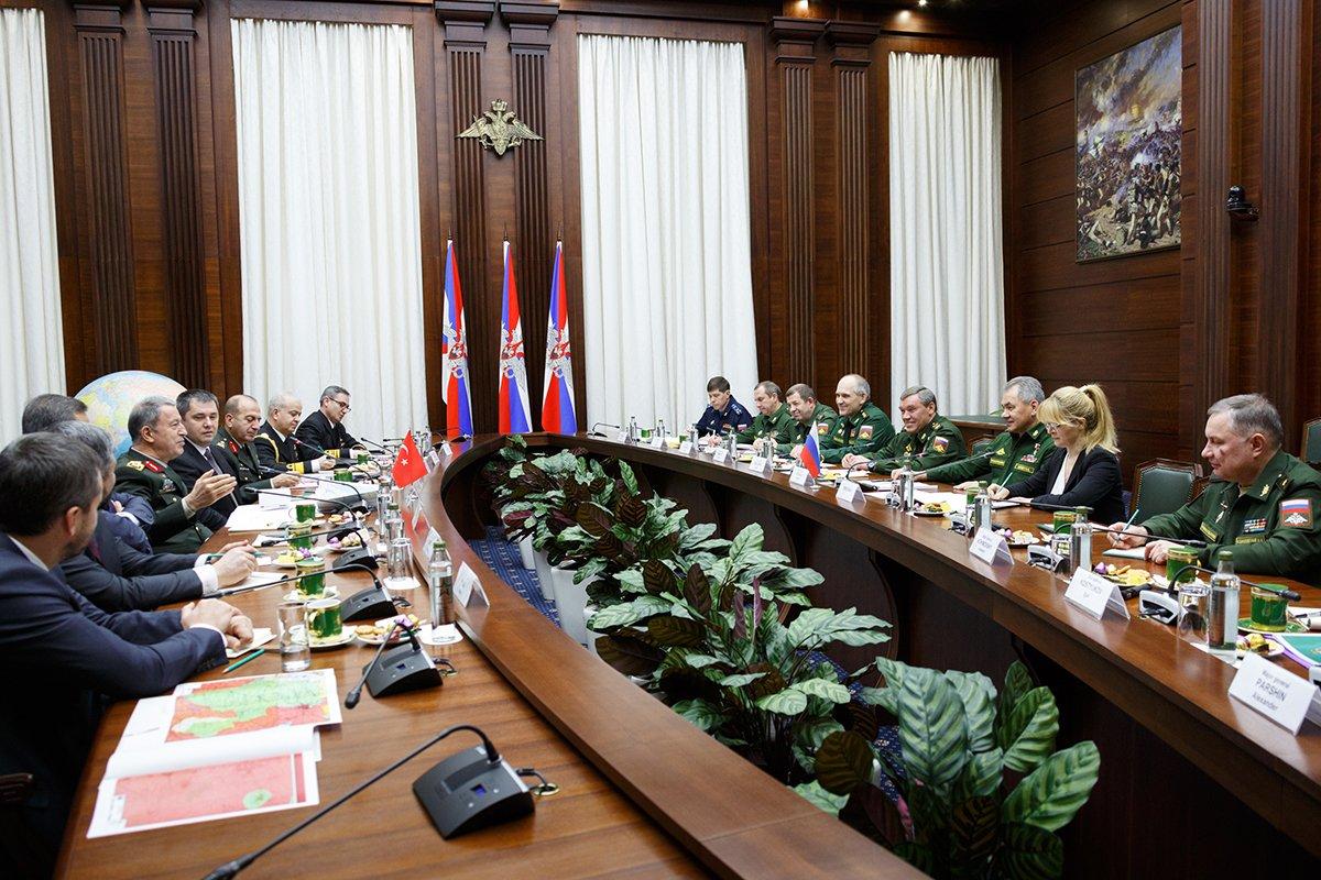 Переговоры РФ и Турции по Африну