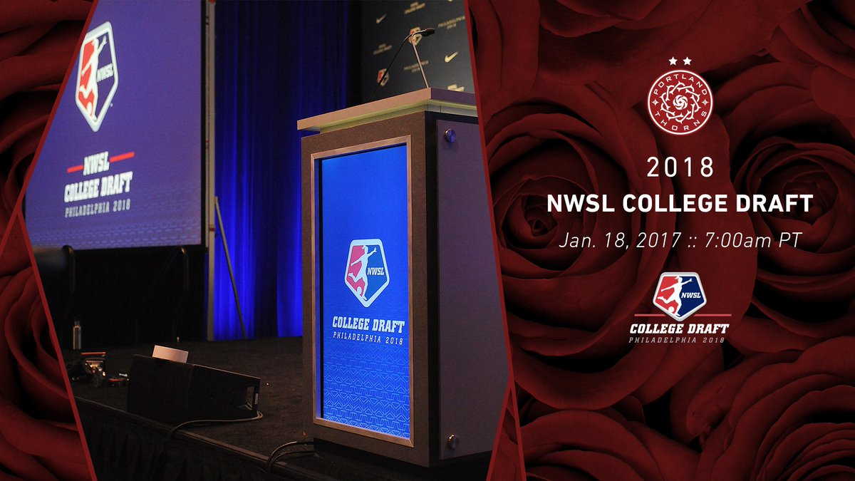 The #NWSLdraft live stream is underway!...