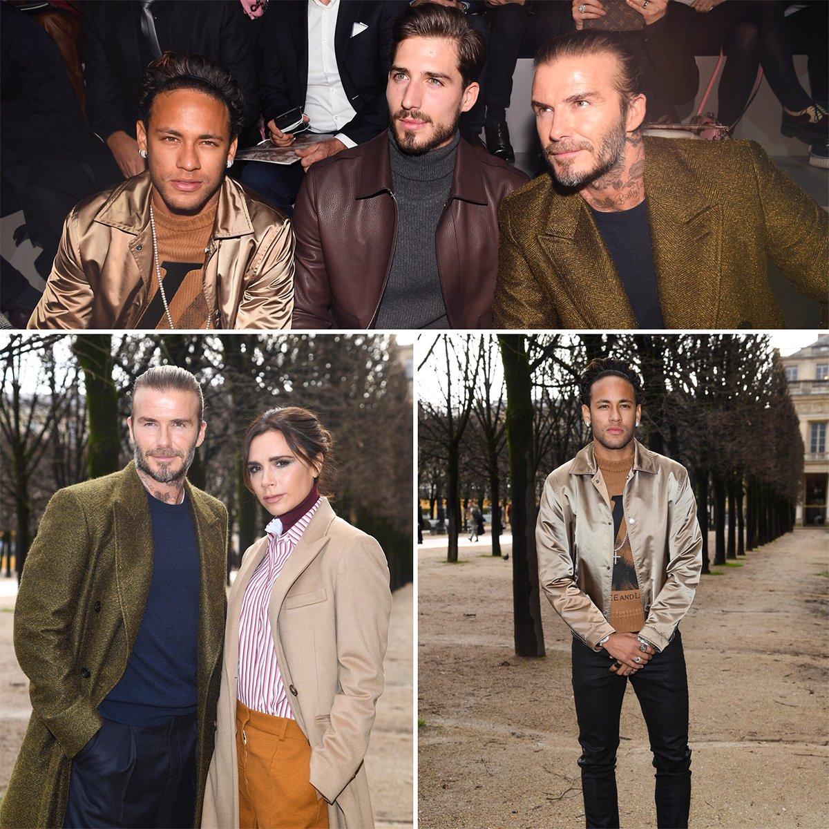 Football meets fashion in Paris.
