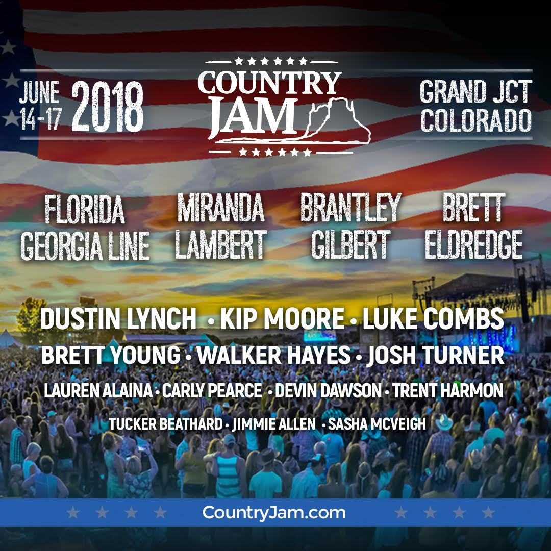 Colorado, come hang with us @CountryJamC...