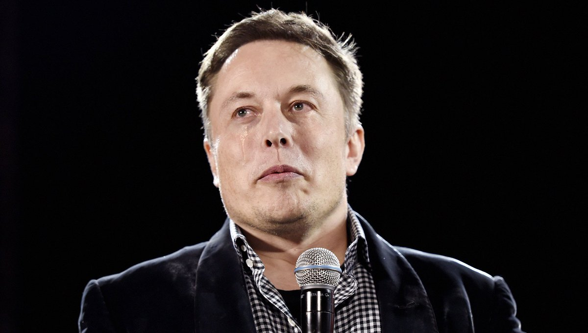 Tearful Elon Musk Warns About Dangers Of AI After Having Heart Broken By Beautiful Robotrix https://t.co/mkoOKtI2xd