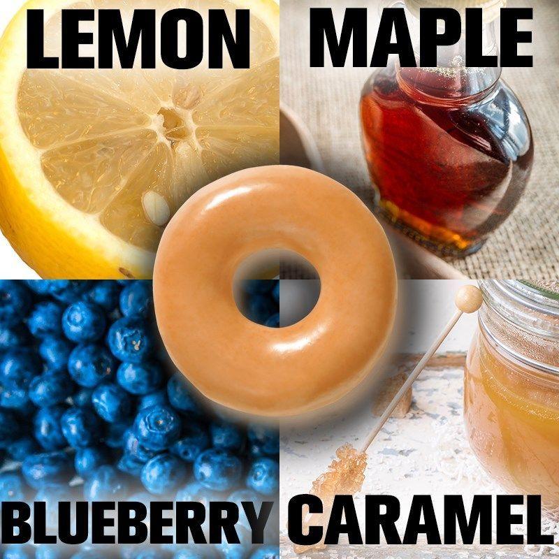 Krispy Kreme is asking doughnut fans to choose their next glazed doughnut.>>  Whathttps://t.co/NkXe91wymG's your choice?