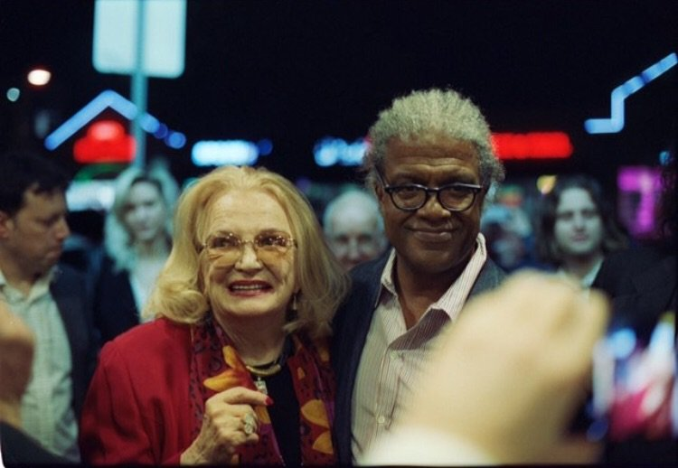 RT @newbeverly: #tbt Gena Rowlands and Elvis Mitchell at the New Bev // 📸 by Alec Moeller https://t.co/ktDW52RYpC