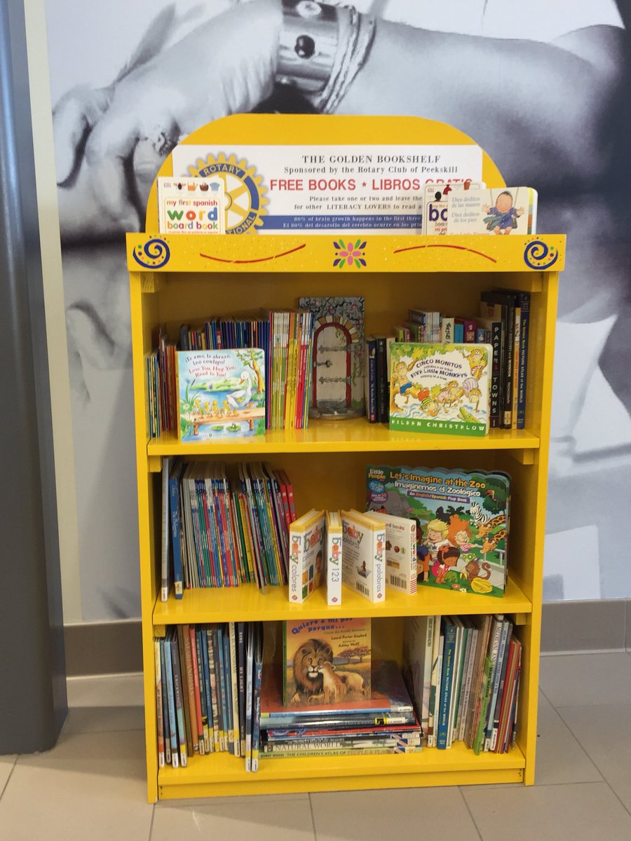 Mary Foster EdD On Twitter Peekskill Rotary Launches The Golden Bookshelf Initiative With Hudson River Healthcare Basics Tenet 5 Read And