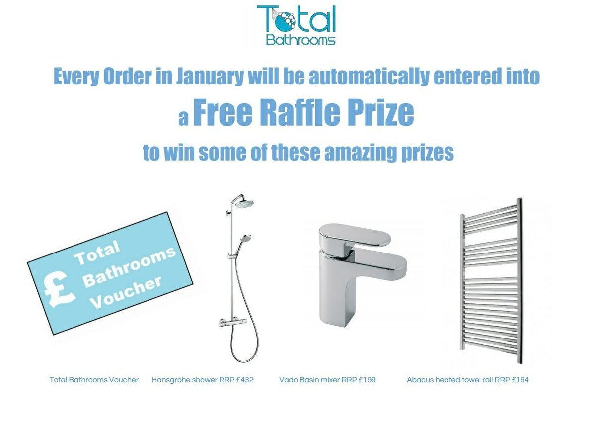 test Twitter Media - Purchase anything in January and you could win one of these great prizes with our free raffle https://t.co/6yY1rgSilb