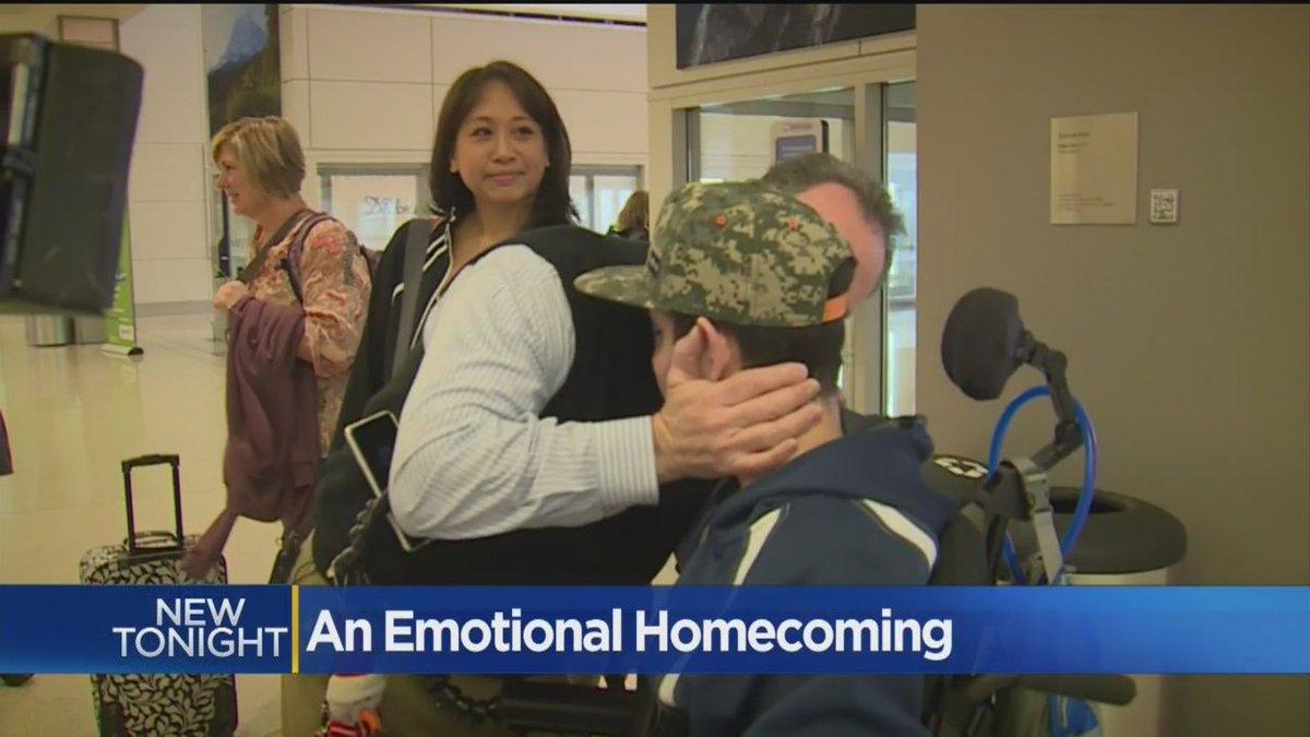 VIDEO: Teen Paralyzed Over Summer Finally Returns Home https://t.co/1ZC3Hie7DP