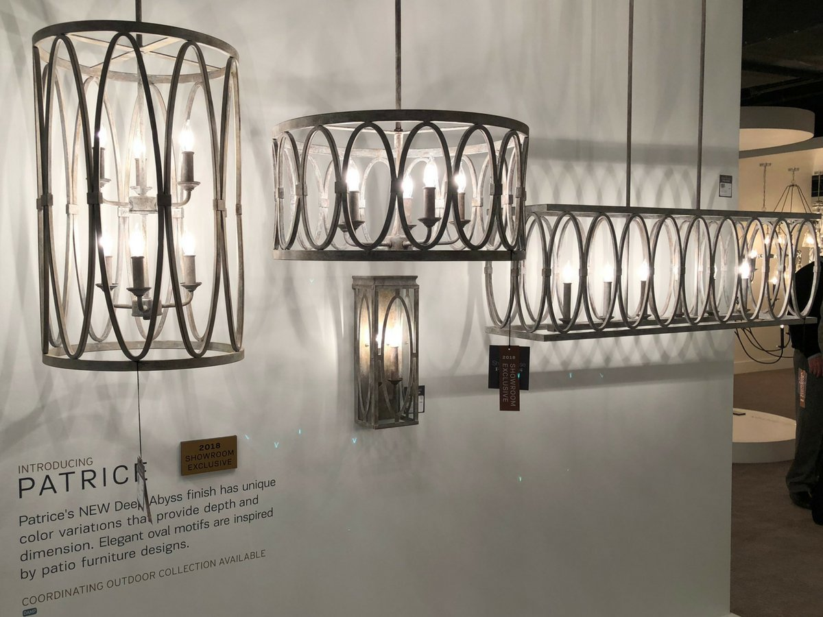 delights lighting. Explore Patrice During #Lightovation In The Generation Lighting Showroom TM-4010 | Http://bit.ly/Feiss-Patrice Pic.twitter.com/MUuabL2h5L Delights O