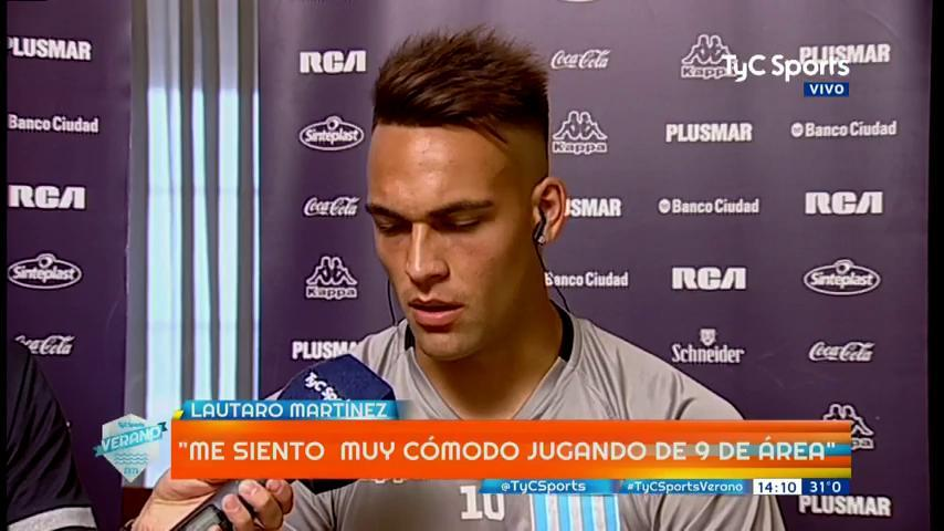 Lautaro Martínez en #TyCSportsVerano: 'R...