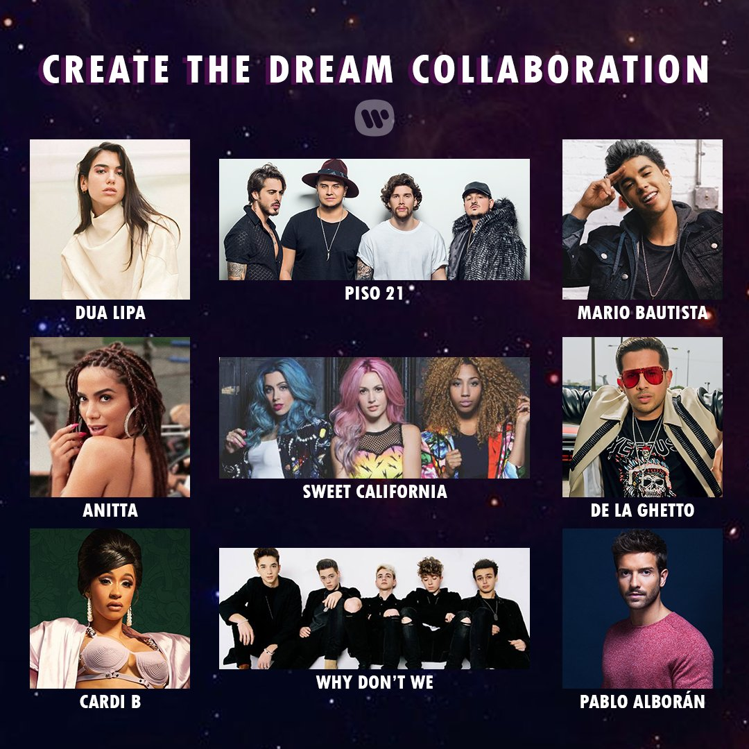 Who do you want a collaboration from🎝? R...