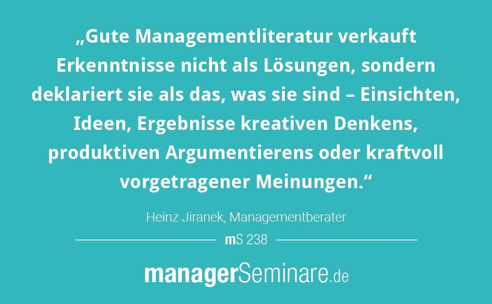 managementliteratur hashtag on Twitter
