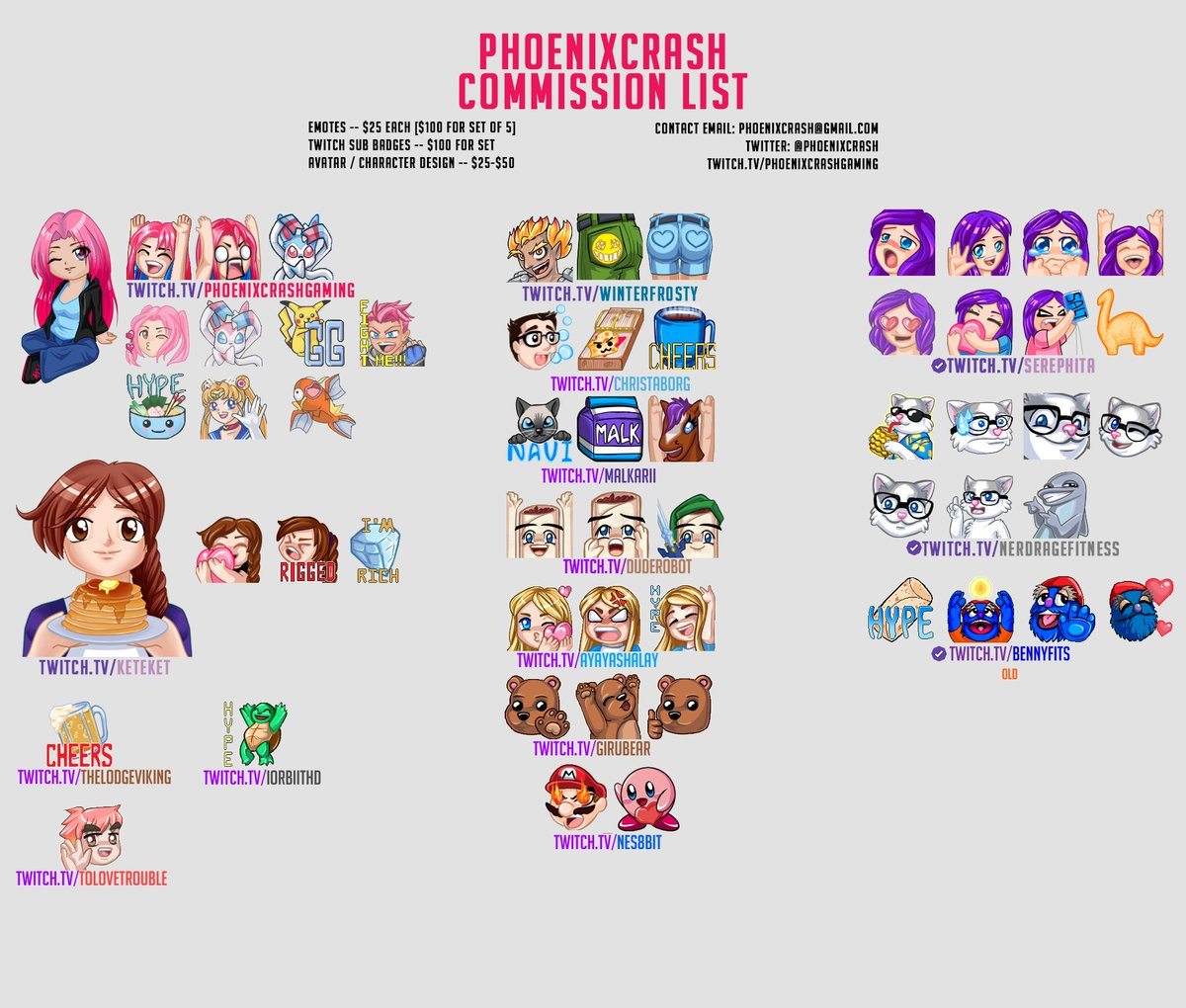 BTTV TWITCH EMOTES LIST - Bbtv Emotes