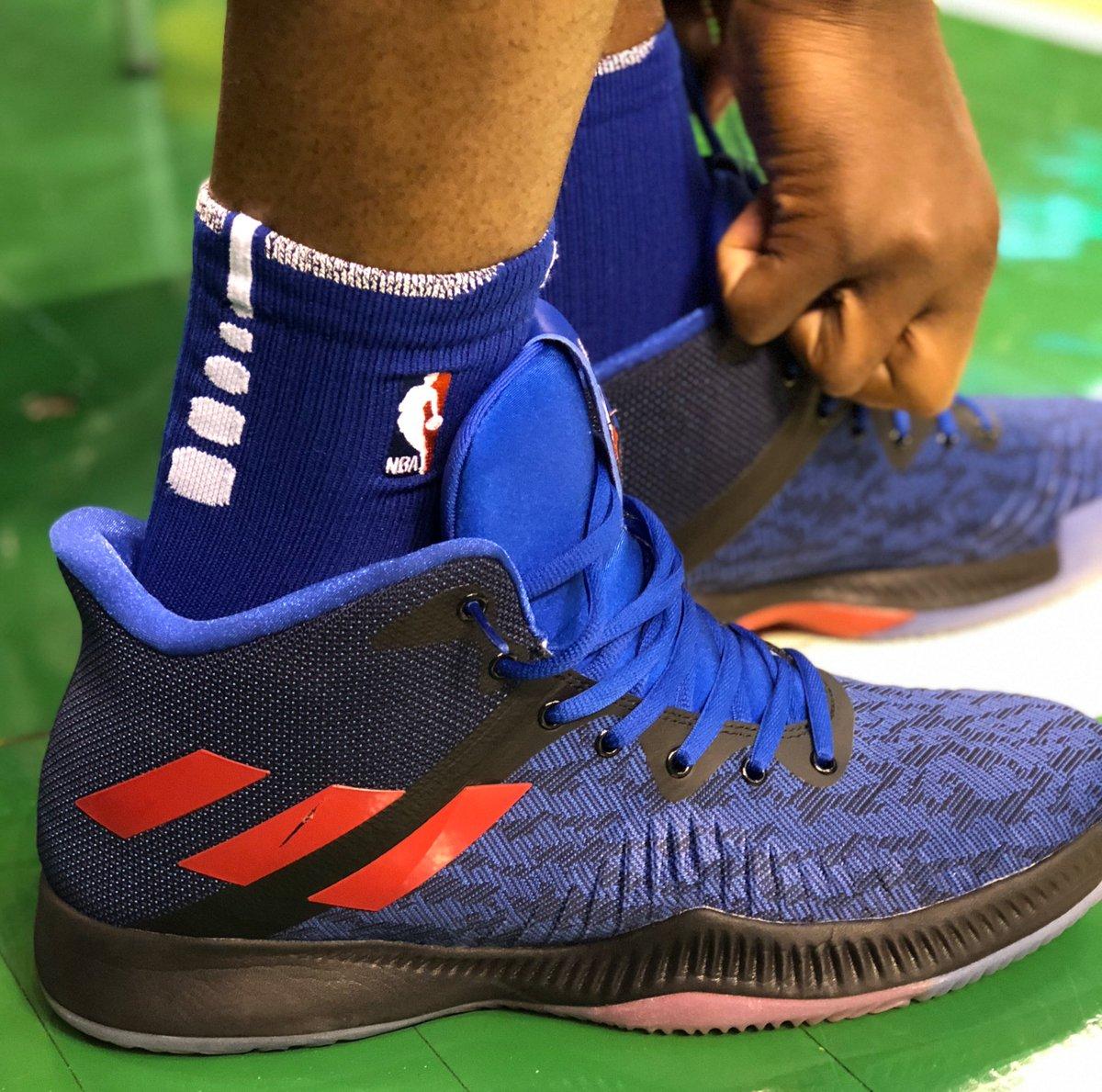 #NBAKicks in Boston for @JoelEmbiid!