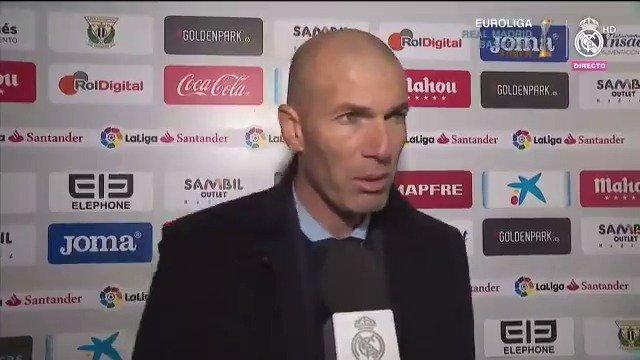👔🎙💬 ¡Este fue el análisis de #Zidane en zona mixta tras el pitido final en Butarque!   #RMCopa   #HalaMadrid https://t.co/fayQvkxOYd