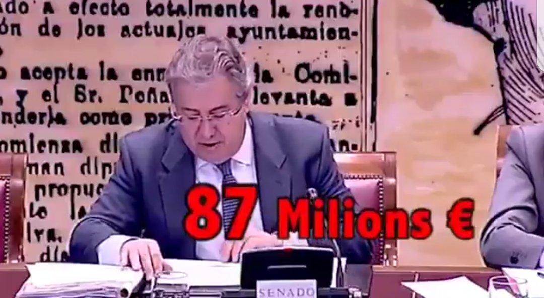 #Zoido Creo que con 87 Millones de euros...