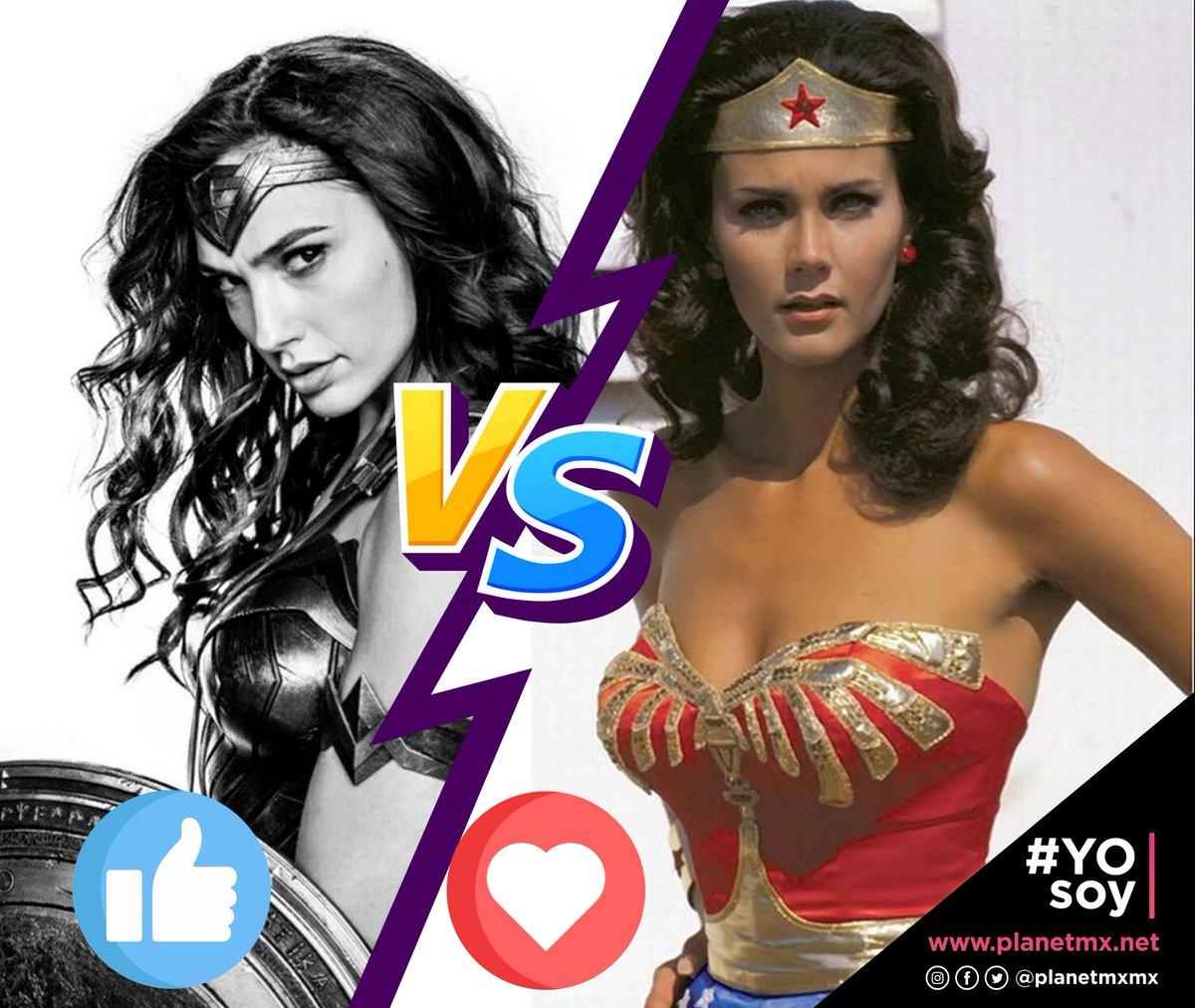 ¿Cúal es tu favorita? #YOsoy #WonderWoman #DC #Princes #superhéroe #playeras #GalGadot #LyndaCarter #FelizJueves😊 https://t.co/1J2jqNcocA