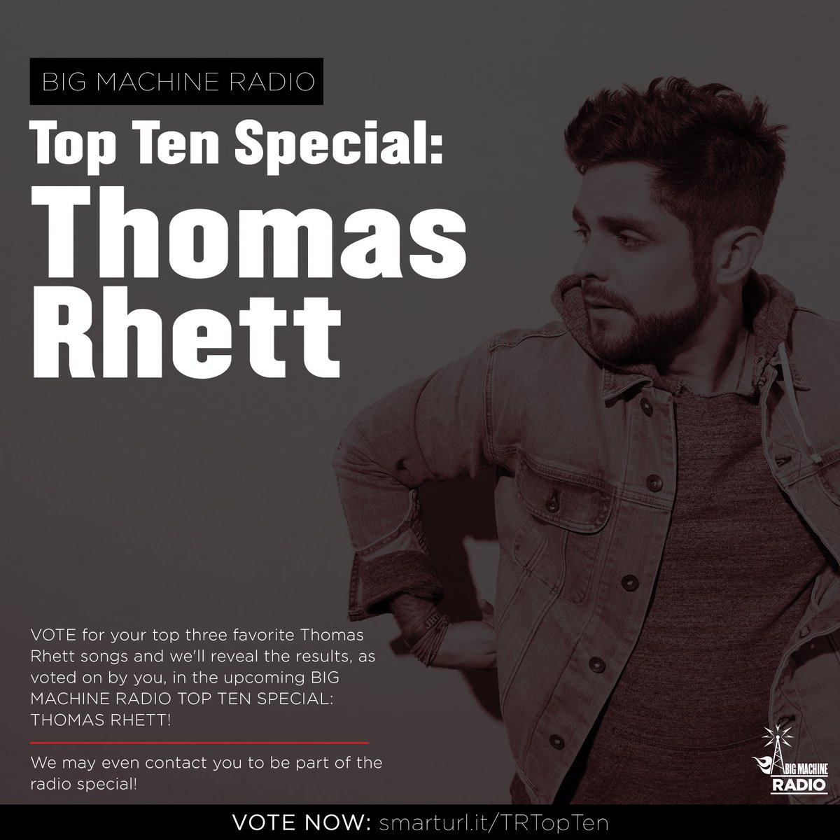 Vote for your Top 3 @ThomasRhett songs n...