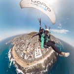 Image for the Tweet beginning: On the go with #GoProFamily