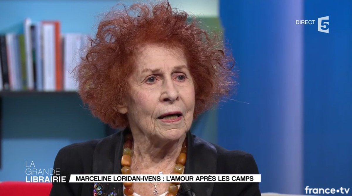 « Il faut arrêter de vivre sur les chemins des autres. » - Marceline Loridan-Ivens @France5tv #LGLf5  - FestivalFocus