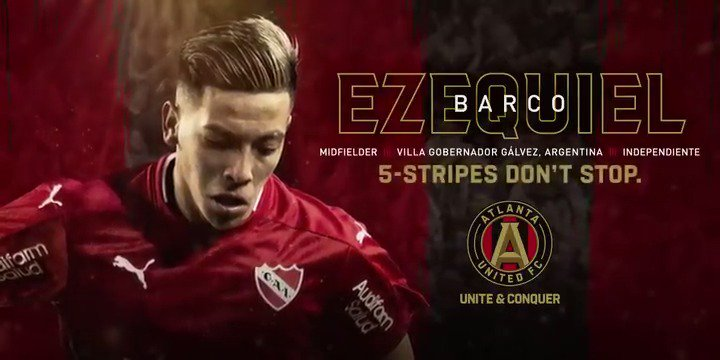 Atlanta United FC's photo on Ezequiel Barco