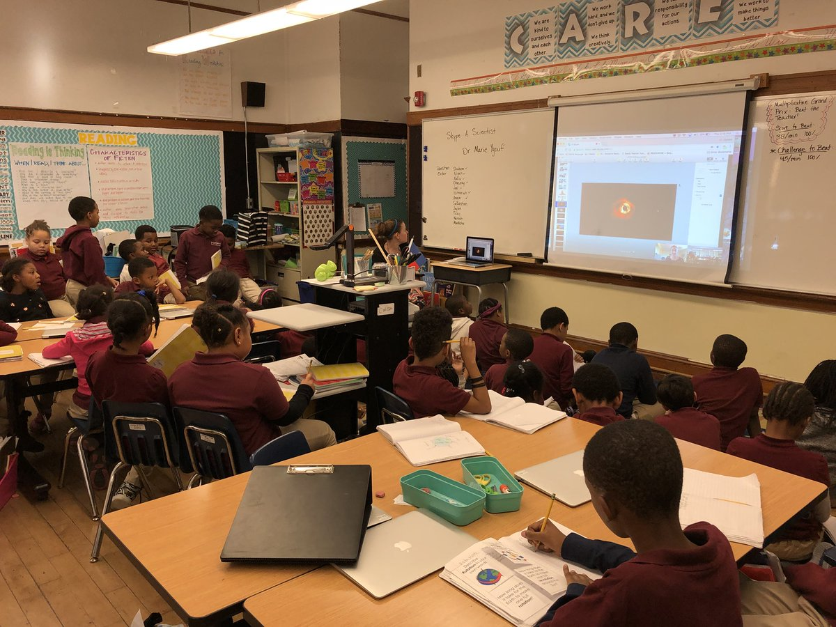 We got to #skypeascientist to learn more about Exoplanets! Thank you @ExoplaneteGirl for answering our questions!  @bbcps<br>http://pic.twitter.com/qyicgqtvso