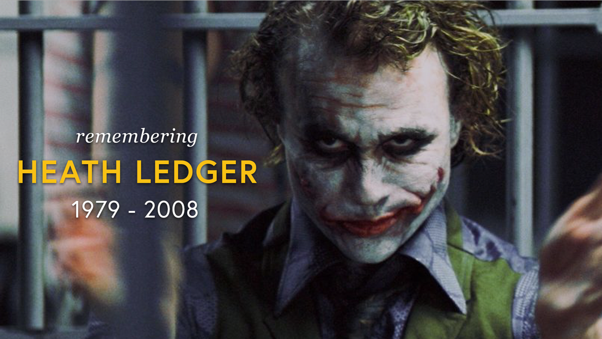 RT @ComicBook: Remembering #HeathLedger 10 years after his passing...😢 https://t.co/Epsv0itayl