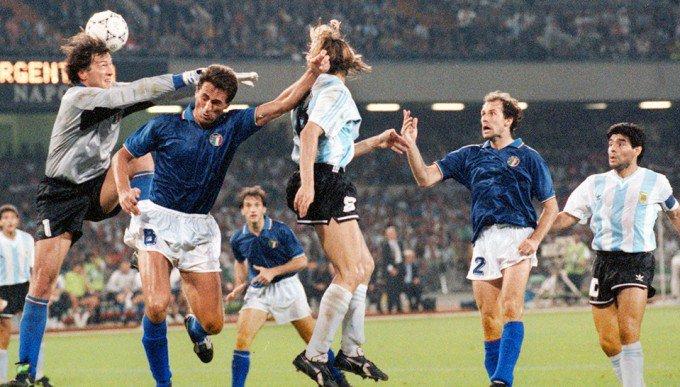 el pajaro Claudio Paul #Caniggia #Italia...