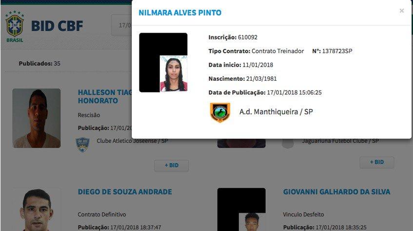NOVIDADE! Nilmara Alves Pinto é a primei...