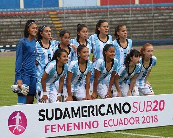 [FÚTBOL FEMENINO]  🏆 Sudamericano Sub 20 ⚽️ @Argentina - @FCFSeleccionCol ⏰ 21.15 👉 https://t.co/wF8N2uANOW https://t.co/mGC8pvza9h