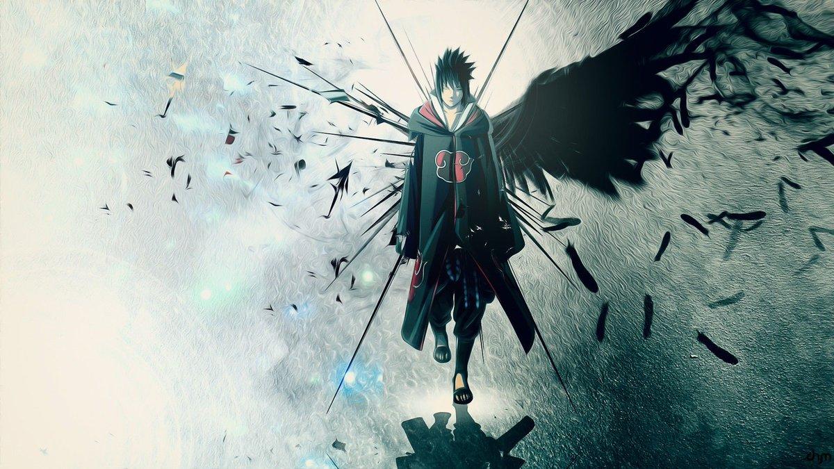 Uchiha On Twitter Day 84 My Last Wallpaper Sasukeuchiha