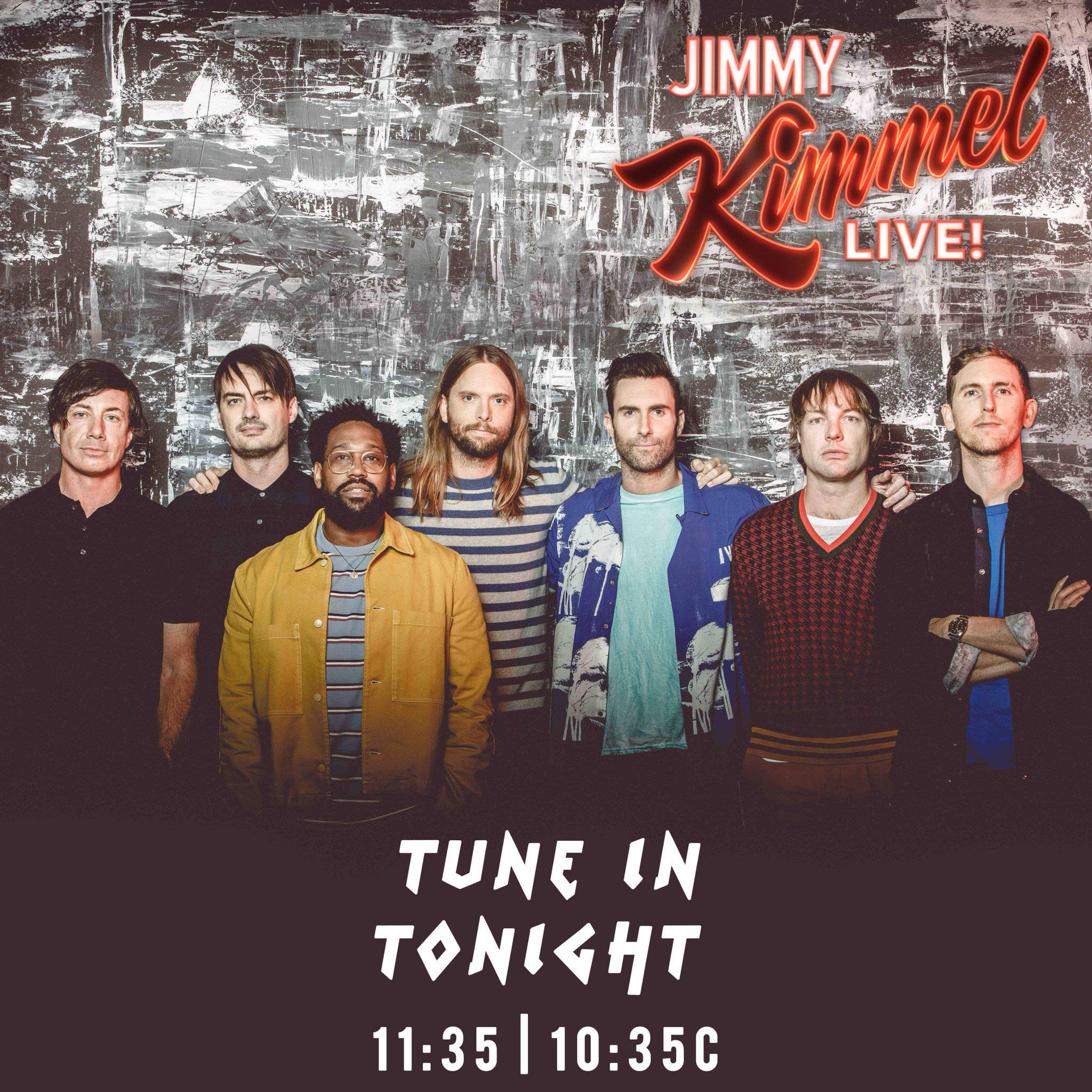 Tonight! Tune-in to @JimmyKimmelLive for a special performance of our new single #WAIT https://t.co/Vsbpnw1q4f