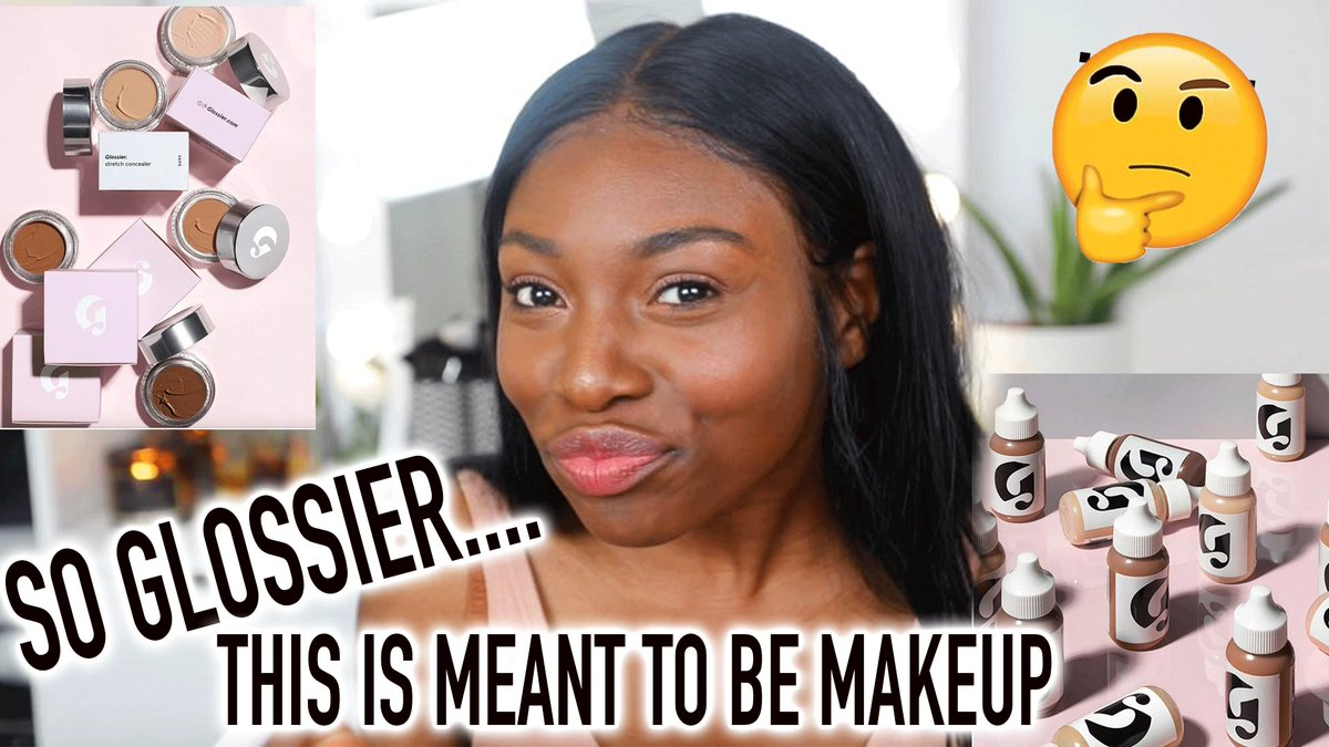 Minimalistic, Dewy Makeup: GLOSSIER REVIEW
