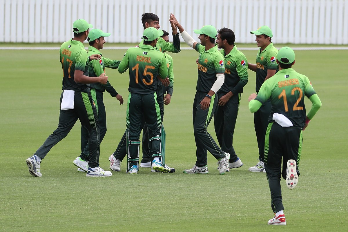 Pakistan defeat Sri Lanka in the Under-19 World Cup to qualify for the quarter-finals
