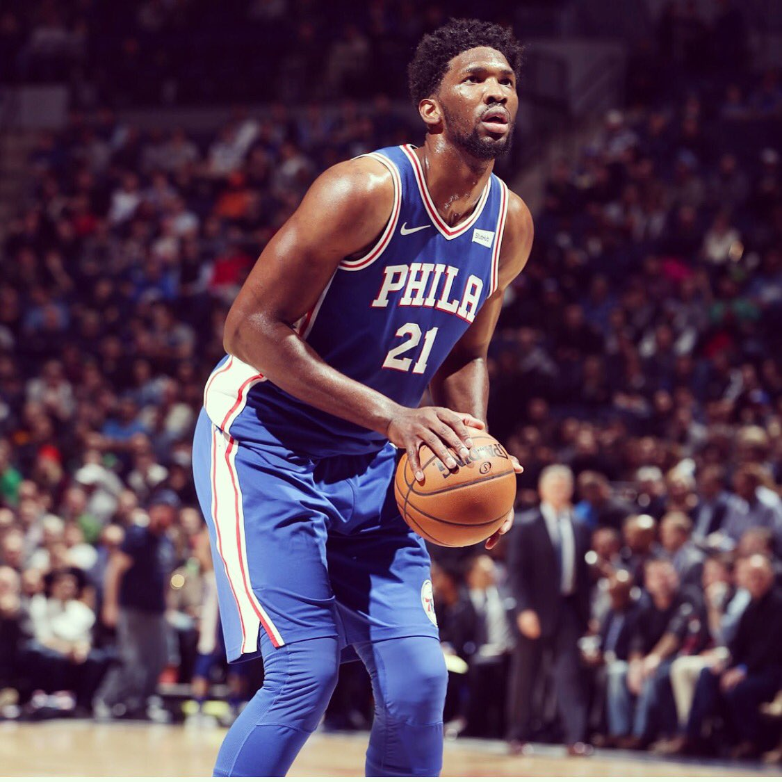 Joel Embiid's photo on All Star