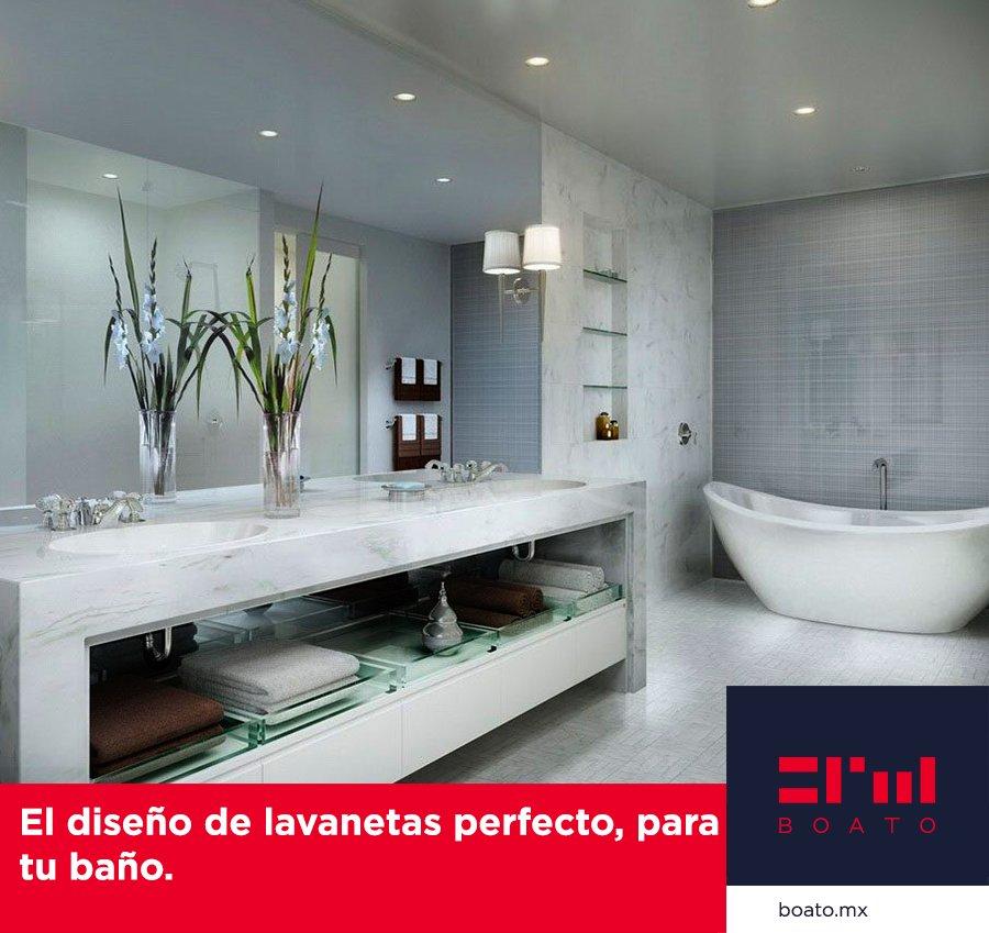 El diseño perfecto, para la decoracion de tu baño. Calidad y belleza en el mismo diseño.  #BOATO #PisosyBaños #InteriorDesing https://t.co/6NFstptxlo
