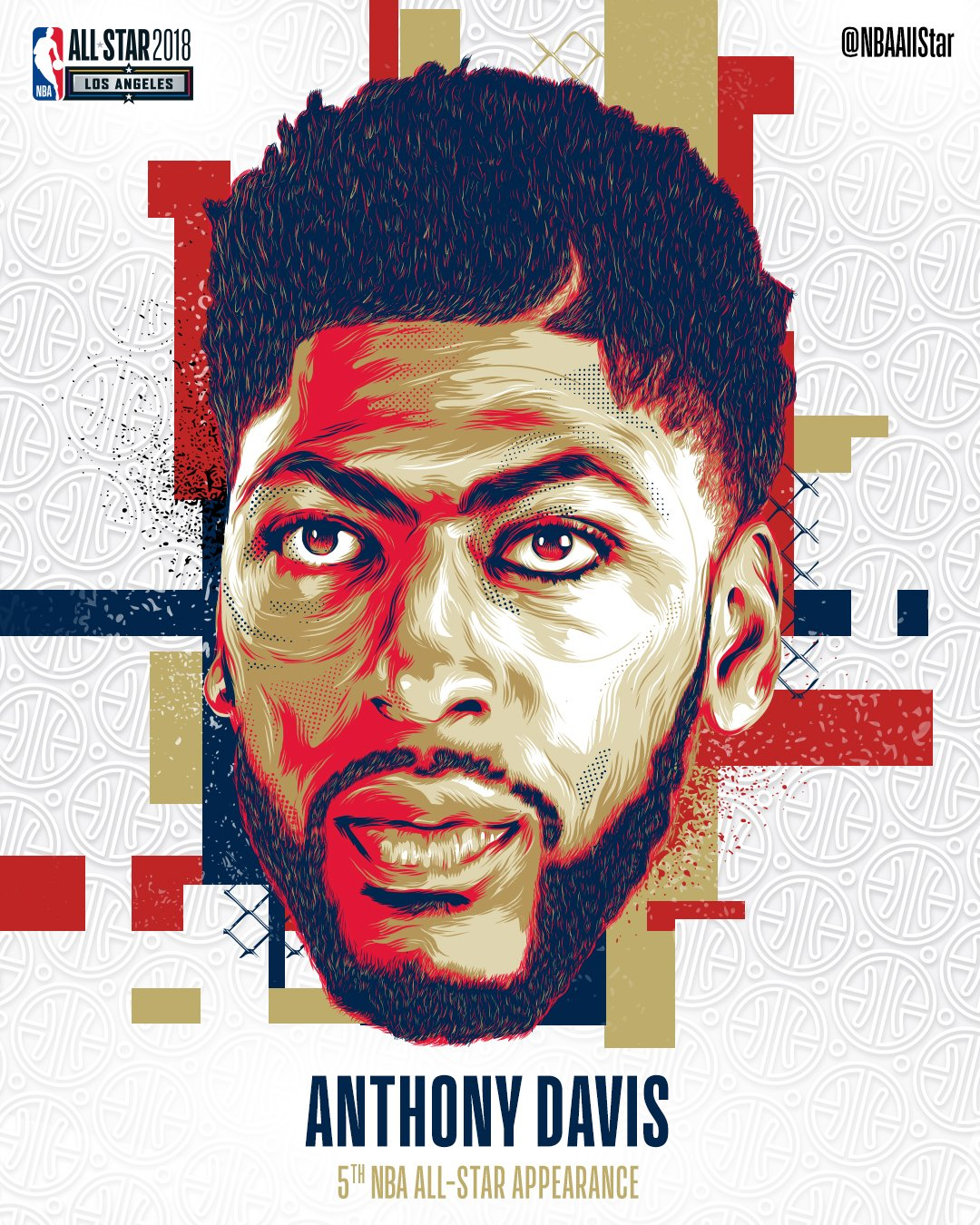 Making his 5th #NBAAllStar appearance... @AntDavis23 of the @PelicansNBA!   #DoItBig #AnthonyDavis https://t.co/eUOvuk6aQZ