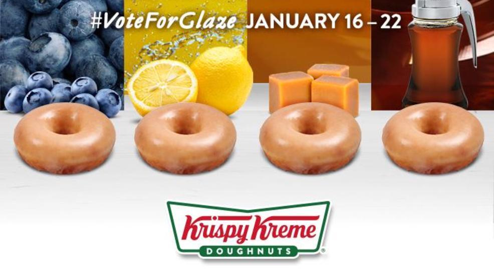#KrispyKreme asking customers to vote on new glazed doughnut flavor https://t.co/vwYMc7s8nL https://t.co/Zi0FJKWkKe